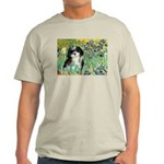 Irises / Shih Tzu #12 Light T-Shirt