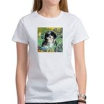 Irises / Shih Tzu #12 Women's T-Shirt