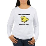 Bread Is For The Birds Women's Long Sleeve T-Shirt
