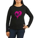 Gluten Free Love Women's Long Sleeve Dark T-Shirt
