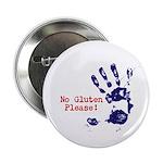 """No Gluten Please 2.25"""" Button (10 pack)"""