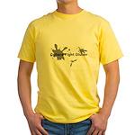 Celiacs Fight Gluten Yellow T-Shirt