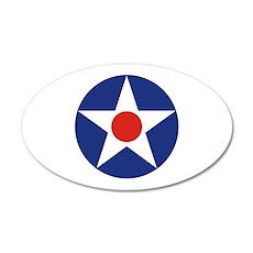 U.S. Star 38.5 x 24.5 Oval Wall Peel