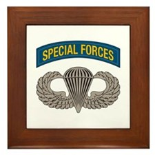 Airborne Special Forces Framed Tile