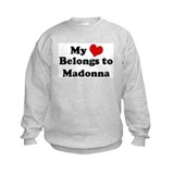 My Heart: Madonna Sweatshirt