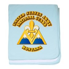 Army National Guard - Montana baby blanket