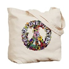 Peace Love Pilates by Svelte.biz Tote Bag