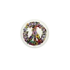 Peace Love Pilates by Svelte.biz Mini Button