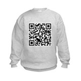 Rick Roll QR Code Sweatshirt