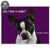 Boston Terrier wants a cookie Puzzle