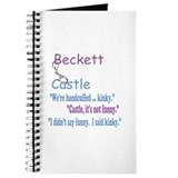 Beckett Castle Handcuffed Quote Journal
