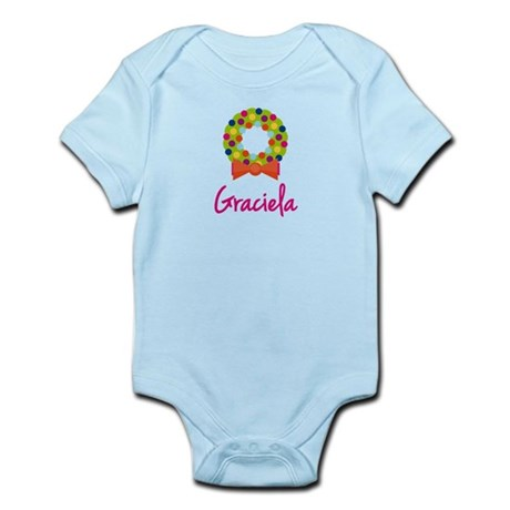 Christmas Wreath Graciela Infant Bodysuit