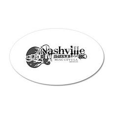 Nashville 22x14 Oval Wall Peel