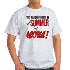 "Seinfeld ""Summer of George"" Ash Grey T-Shirt"