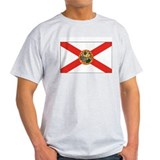 Florida State Flag Grey T-Shirt