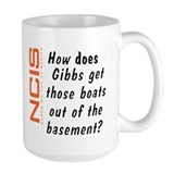 NCIS - Gibbs' Boats Ceramic Mugs