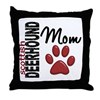Scottish Deerhound Mom 2 Throw Pillow