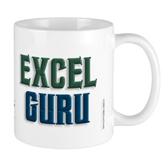 Isnt it Obvious? Excel Guru Mug