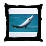 Shift Happens Throw Pillow
