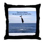 No Failure Throw Pillow