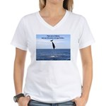 No Failure Women's V-Neck T-Shirt