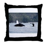 Let It In Throw Pillow