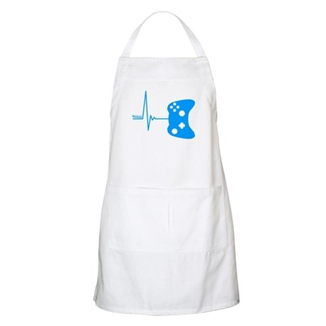 Gamers Heart Beat Apron