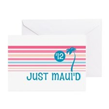 Stripe Just Maui'd '12 Greeting Cards (Pk of 20)