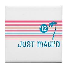 Stripe Just Maui'd '12 Tile Coaster