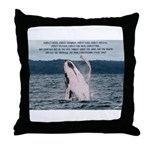 Expect Lucky Throw Pillow