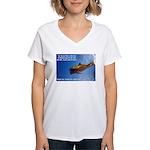 Divine Plan Women's V-Neck T-Shirt
