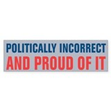 Politically Incorrect Car Sticker