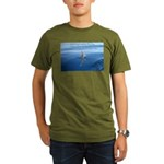 Connect With Spirit Organic Men's T-Shirt (dark)