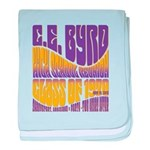 C.E. Byrd Reunion Type only baby blanket