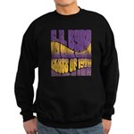 C.E. Byrd Reunion Type only Sweatshirt (dark)