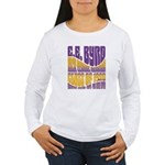 C.E. Byrd Reunion Type only Women's Long Sleeve T-