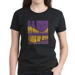 C.E. Byrd Reunion Type only Women's Dark T-Shirt