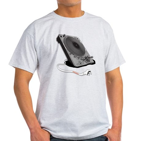 Turntable Plug Light T-Shirt