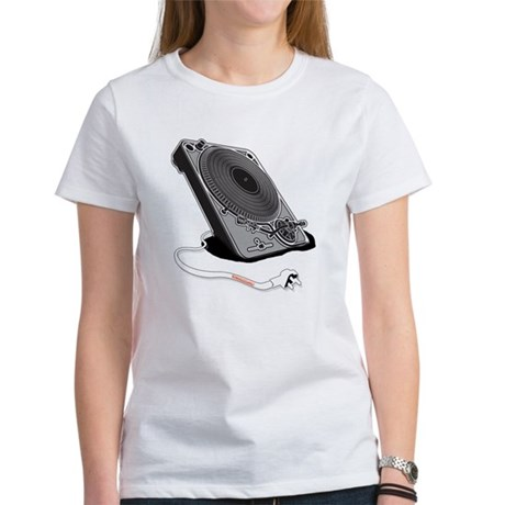 Turntable Plug Women's T-Shirt