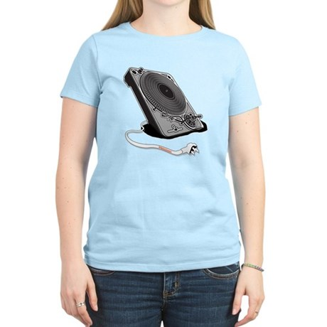 Turntable Plug Women's Light T-Shirt