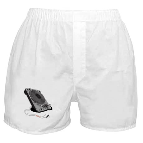 Turntable Plug Boxer Shorts
