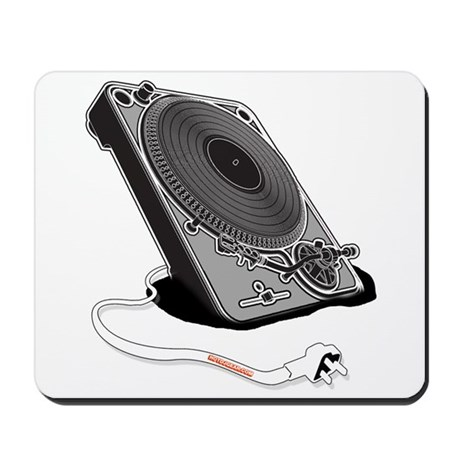 Turntable Plug Mousepad