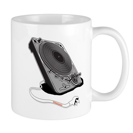 Turntable Plug Mug