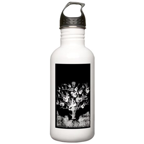 Acoustic Guitar Tree Stainless Water Bottle 1.0L