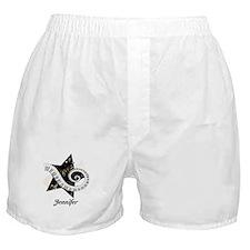Music star gold black Boxer Shorts