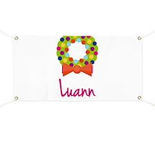 Christmas Wreath Luann Banner