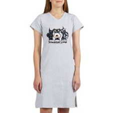 Miniature Schnauzer Lover Women's Nightshirt