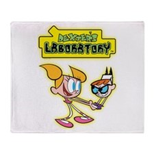Dexter's Laboratory Throw Blanket
