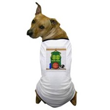Personalized Basketball Green Dog T-Shirt