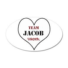 Team Jacob 22x14 Oval Wall Peel